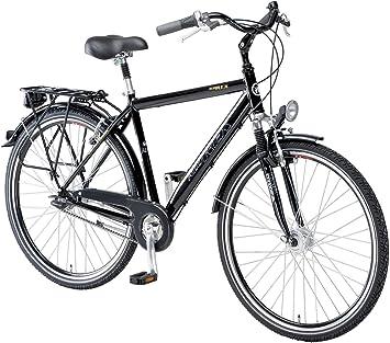 Alu-Rex 1433 - Bicicleta de Paseo para Hombre, Talla S (160-165 ...
