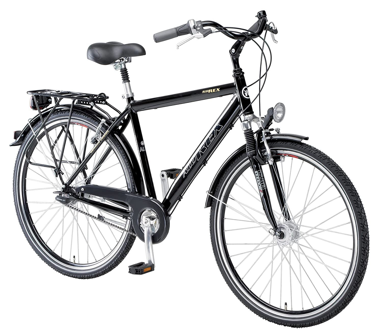 Alu-Rex 1433 - Bicicleta de Paseo para Hombre, Talla S (160-165 cm ...