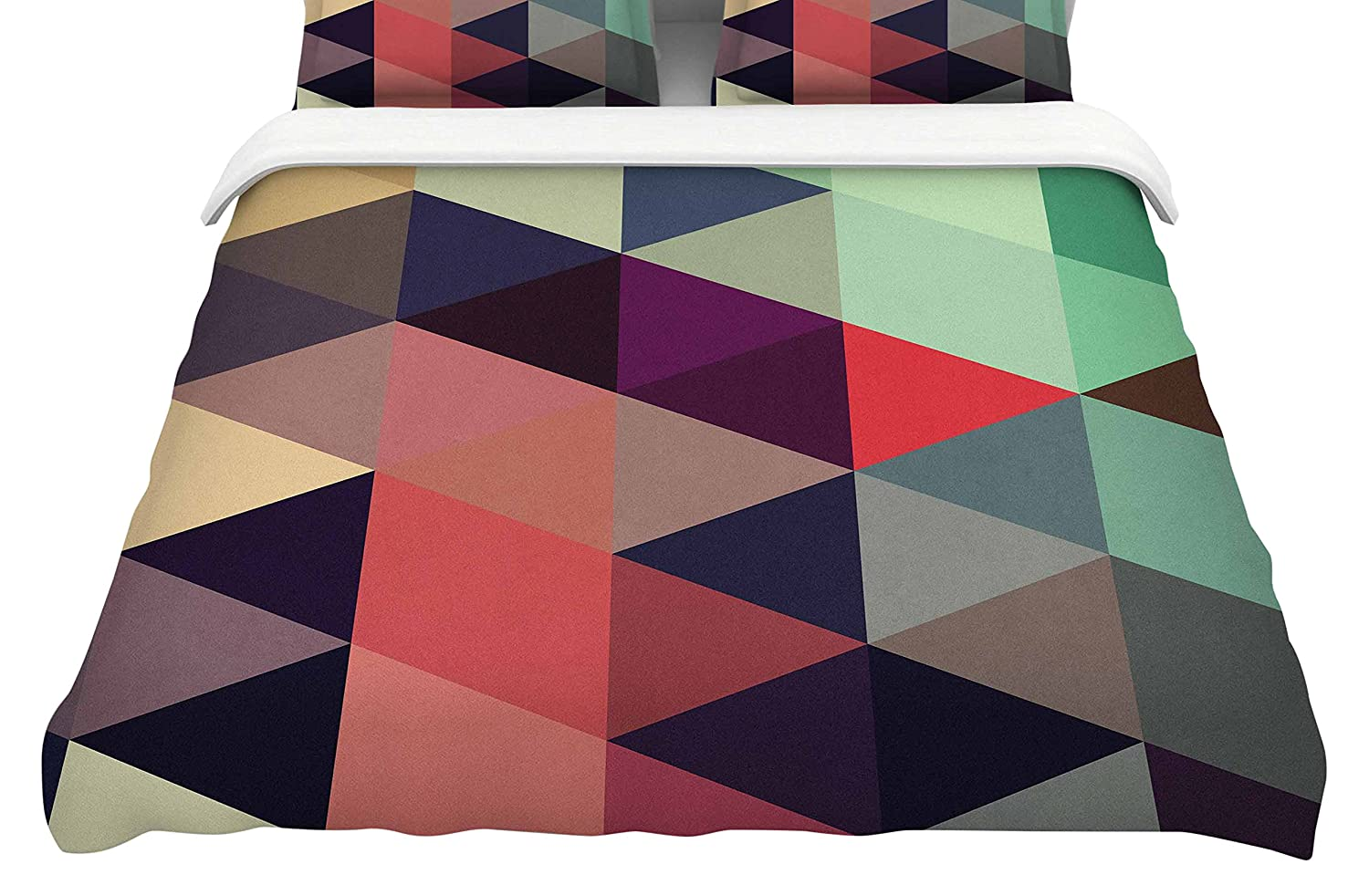 104 x 88 104 x 88 Kess InHouse Juan Paolo Labyrinth King Cotton Duvet Cover