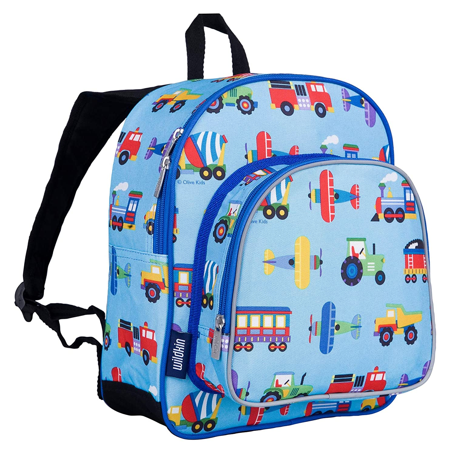 Wildkin 12 Inch Backpack, Includes Insulated, Food-Safe Front Pocket and  Side Mesh Water Bottle Pocket, Perfect for Preschool, Daycare, and Day  Trips, ... 1d7913d5d8