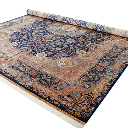 Amazon YILONG CARPET Luxury Hand Knotted Persian Silk Area Rugs