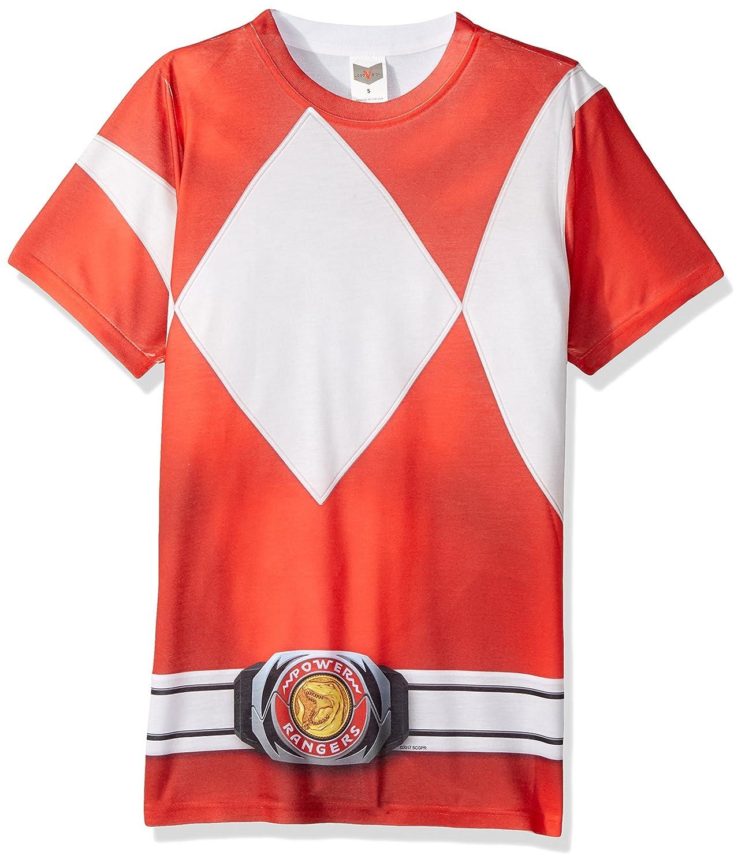 Power Rangers - Camiseta - Manga Corta - Hombre: Amazon.es: Ropa y ...