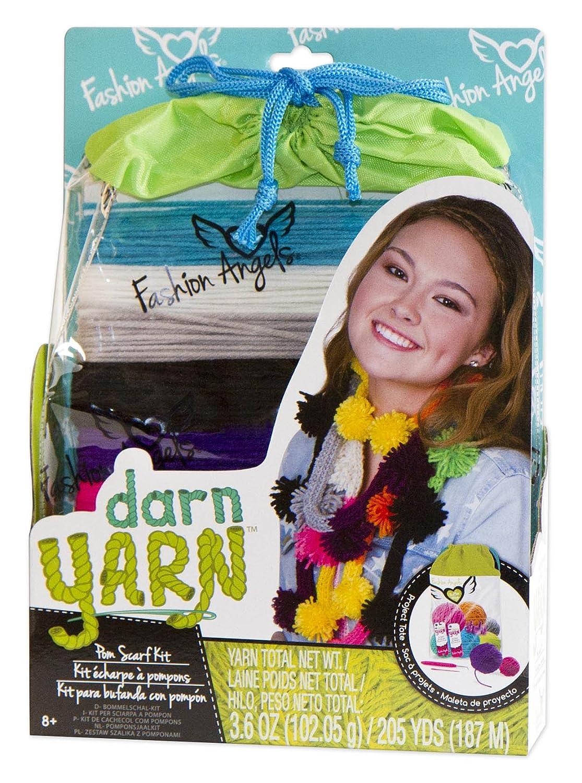 Fashion Angels Darn Yarn Pom Pom Scarf Fashion Angels Enterprises 11865
