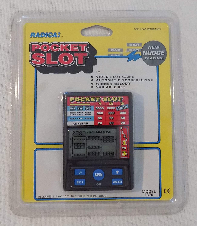 Pocket Slot Machine Electronic Handheld Game