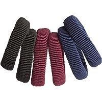 Elásticos sem Metal 10mm Casual Daily, 8141, Marco Boni, Cores Sortidas, 6 Unidades