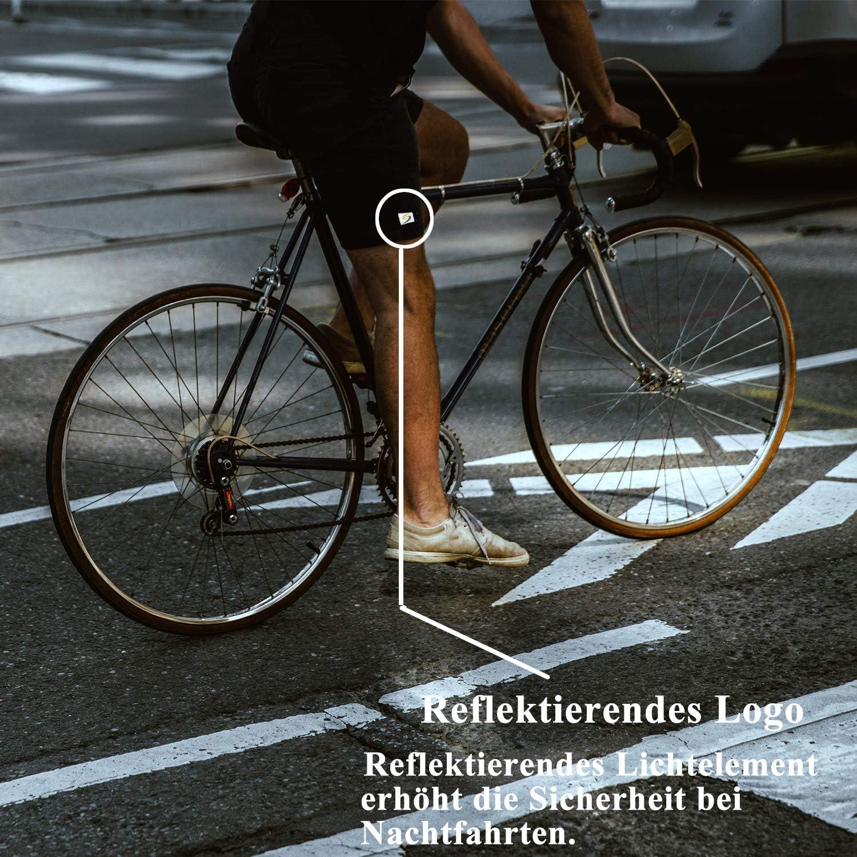 per MTB ammortizzanti e ad asciugatura rapida Pantaloni da ciclismo con imbottitura 4D Sportout antiscivolo per mountain bike da uomo