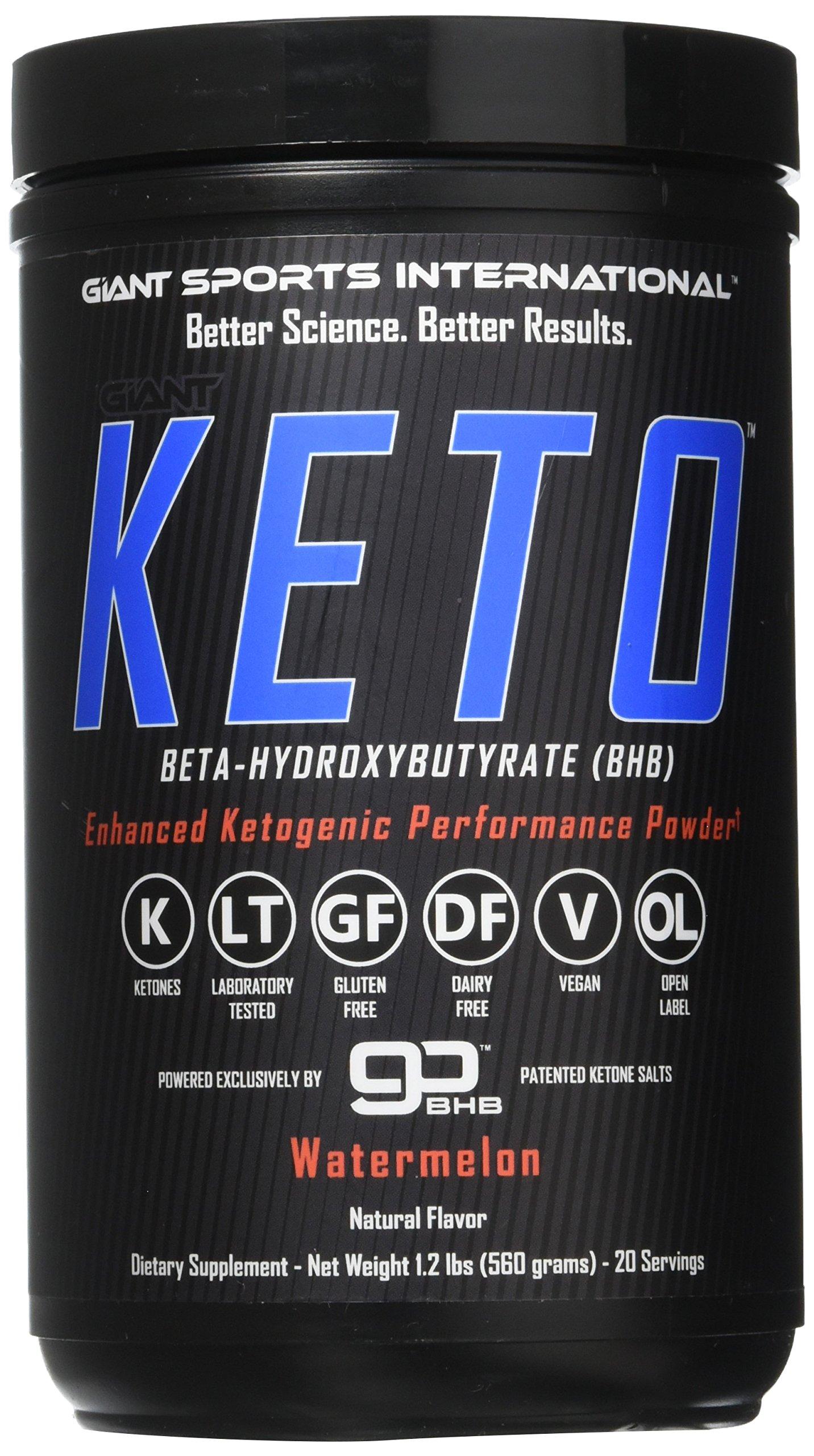 Amazon.com: Giant Keto-Exogenous Ketones Supplement - Beta-Hydroxybutyrate Keto Powder Designed ...
