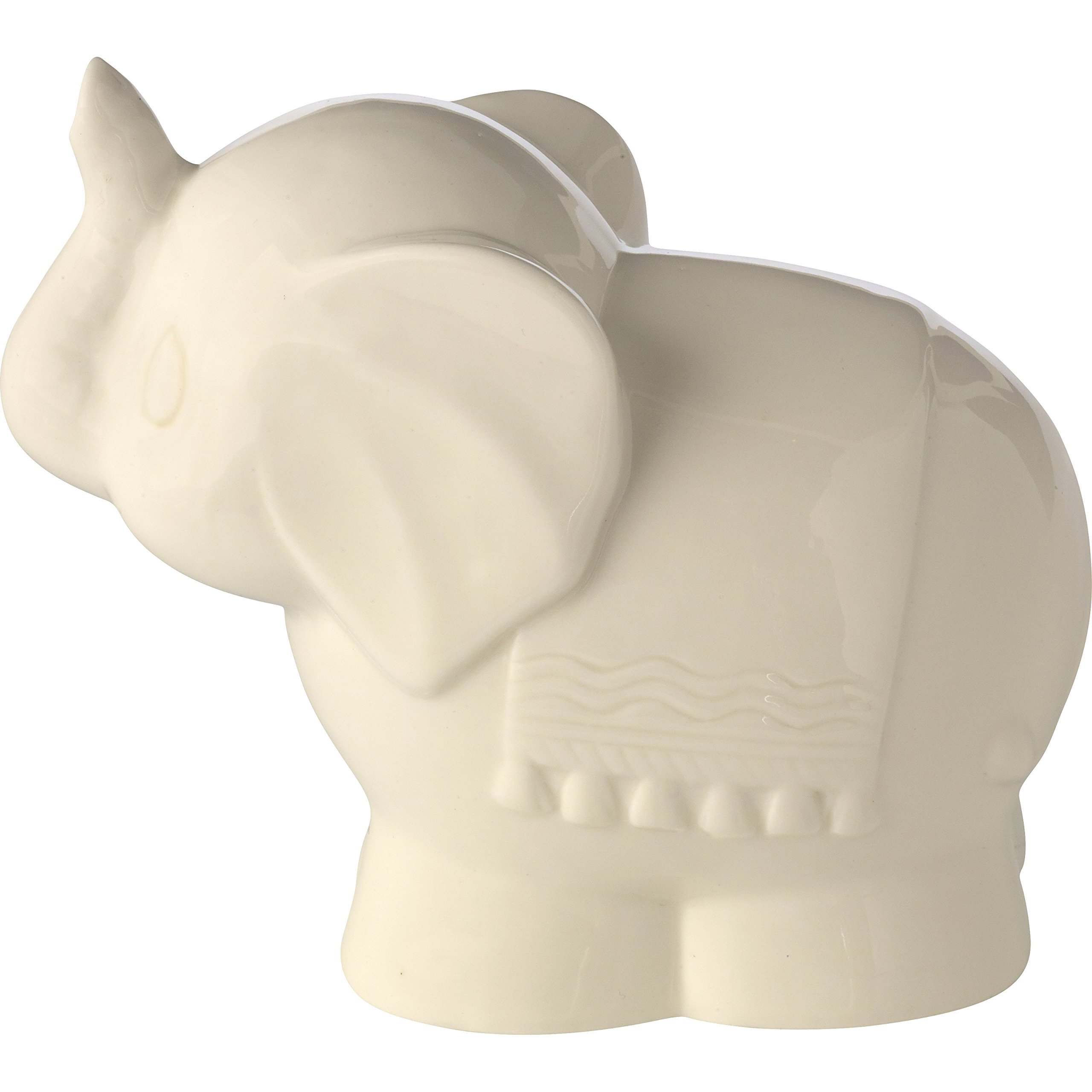 Precious Moments Tuk Elephant Ceramic Battery Operated Nightlight, Beige by Precious Moments