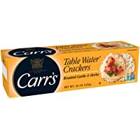 CARR's Table Water Crackers with Garlic and Herbs, 125 Gram