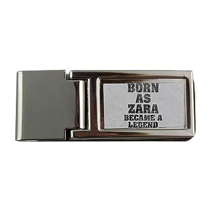 Metal dinero clip con Born como Zara, se convirtió en una leyenda