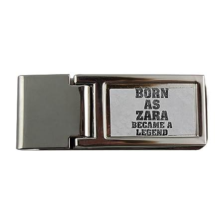 Metal dinero clip con Born como Zara, se convirtió en una leyenda: Amazon.es: Oficina y papelería