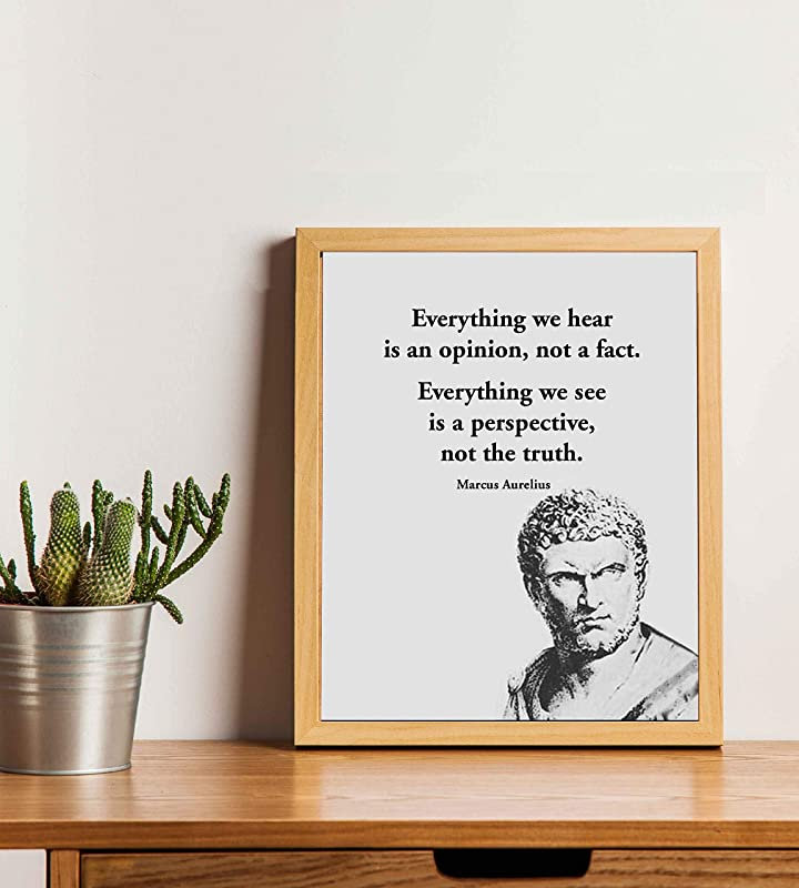 Everything We Hear 11x14 Unframed Typography Book Page Print Details about  /Marcus Aurelius