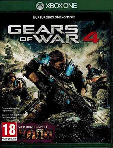 Gears of War 4 (XONE) (PEGI) [Importación alemana]: Amazon.es ...