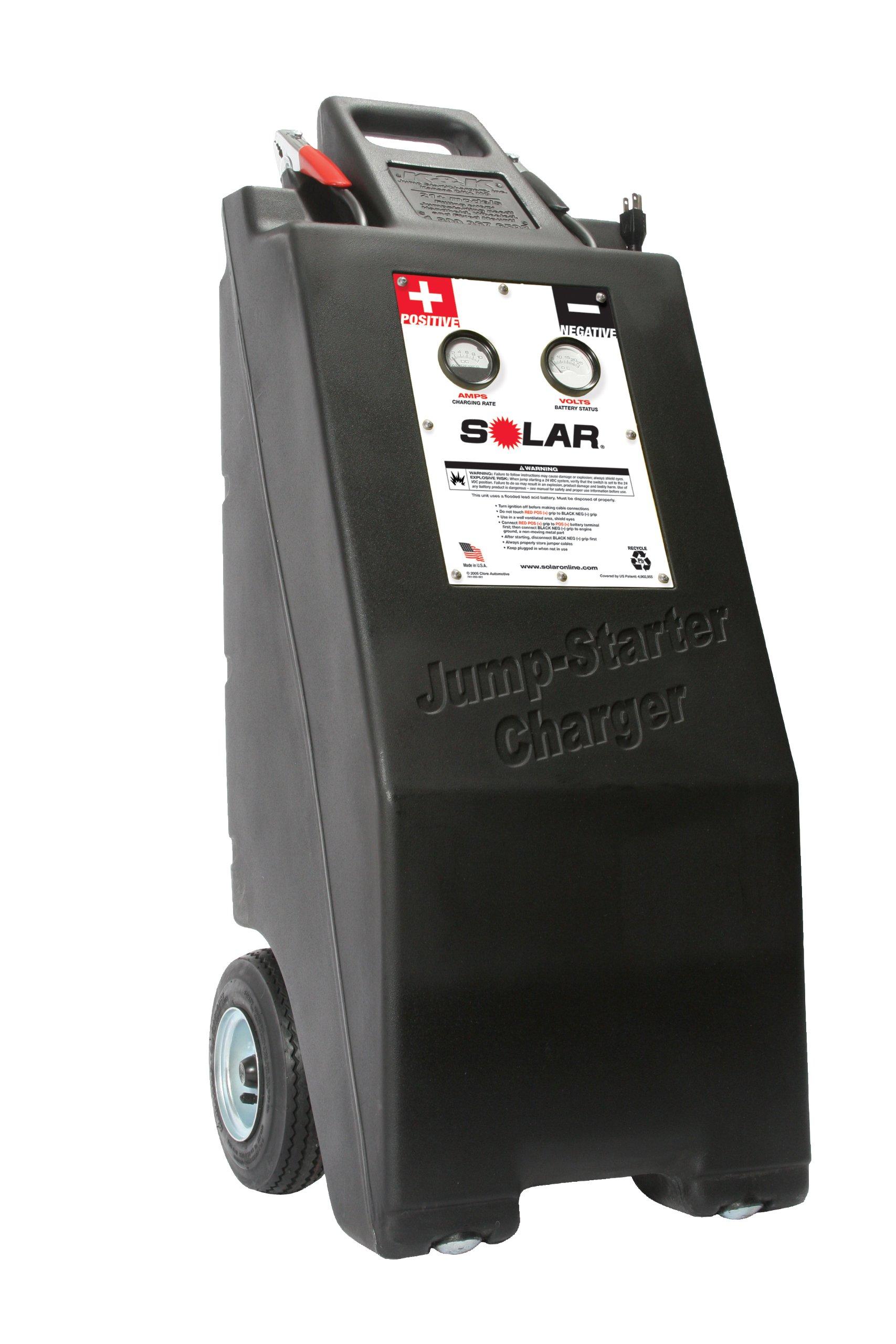SOLAR 2001 Wheeled Jump Starter/Charger