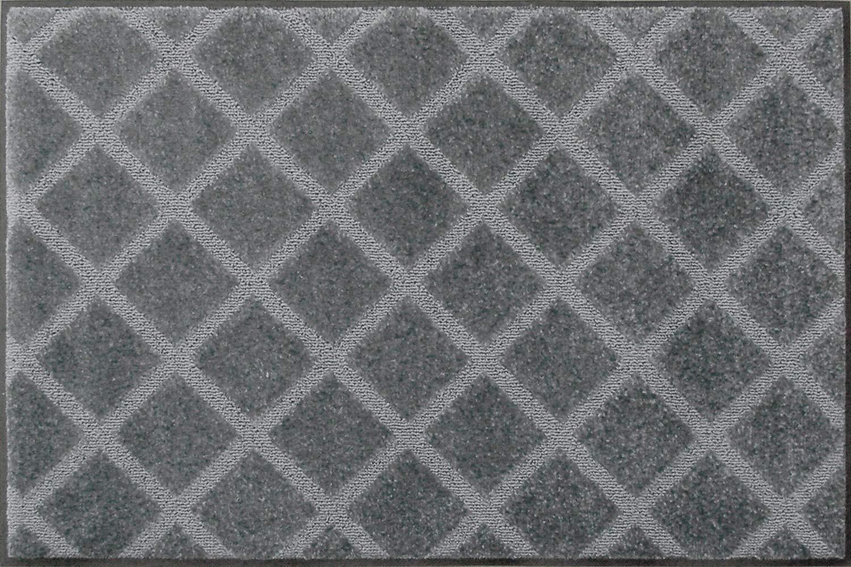 クリーンテックスジャパン(Kleen-Tex) 泥落とし玄関マット スクレイプマットG 75×90cm シルバー AJ00006 B018RX9TY4 シルバー 75×90cm