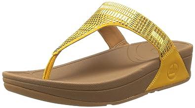e776c8206f71 Fit Flop Women s Aztek Chada Sunflower Leather Fashion Sandals - 7 UK India  (41