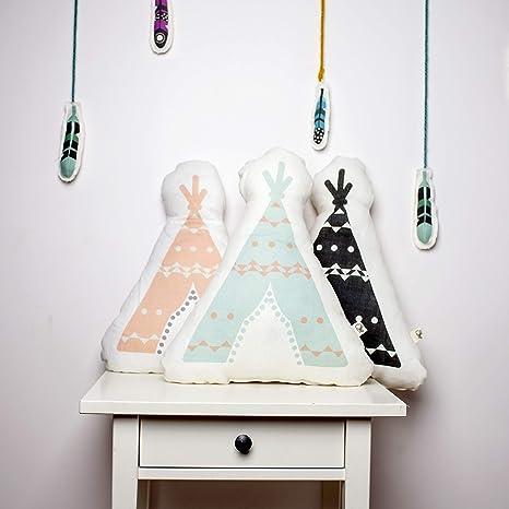Almohada decorativa, decoración de Teepee, almohadas para ...