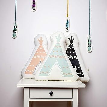 Kinderkissen Babykissen Babykissen Kinderkissen Kissen f/ür Kinder Tipi-Dekoration Kinderzimmer-Dekor Kleinkindkissen Dekokissen