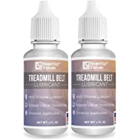 2 Pack Essential Values Treadmill Belt Lubricant - 100% Silicone Universal Treadmil Belt Lube, Made in USA