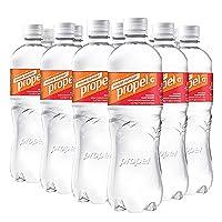 Propel Immune Support with Vitamin C + Zinc, Orange Raspberry, 24oz Bottle, Pack of 12