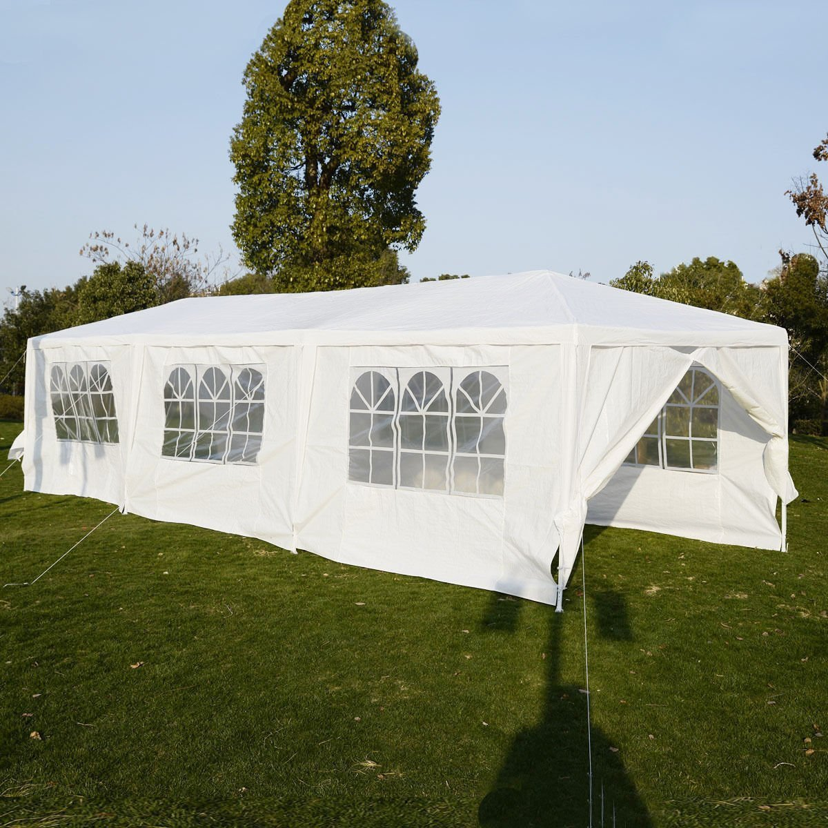 Amazon.com  BenefitUSA Wedding Party Tent Outdoor C&ing 10u0027x30u0027 Easy Set Gazebo BBQ Pavilion Canopy Cater Events  Garden u0026 Outdoor : tents for outdoor events - memphite.com