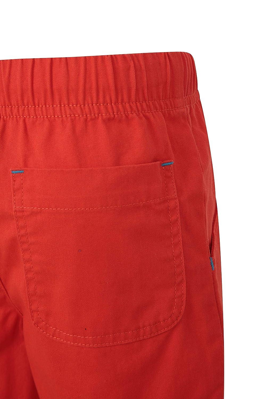 Shorts di Estate dei Bambini Leggeri Pantaloni Corti Elastici di Waistband Mountain Warehouse Waterfall Shorts del Cerchio dei Capretti Pantaloni di Wicking