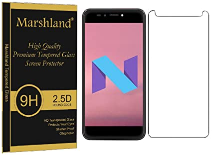 3f484022996961 Marshland® Micromax Selfie 2 Q4311 Tempered Glass Screen Protector 2.5D  Round Edge 0.33mm