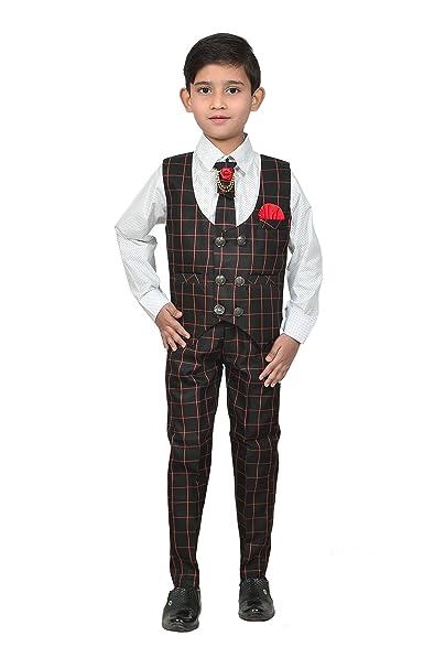 1e487f5431 Zolario Boy s Cotton Waistcoat