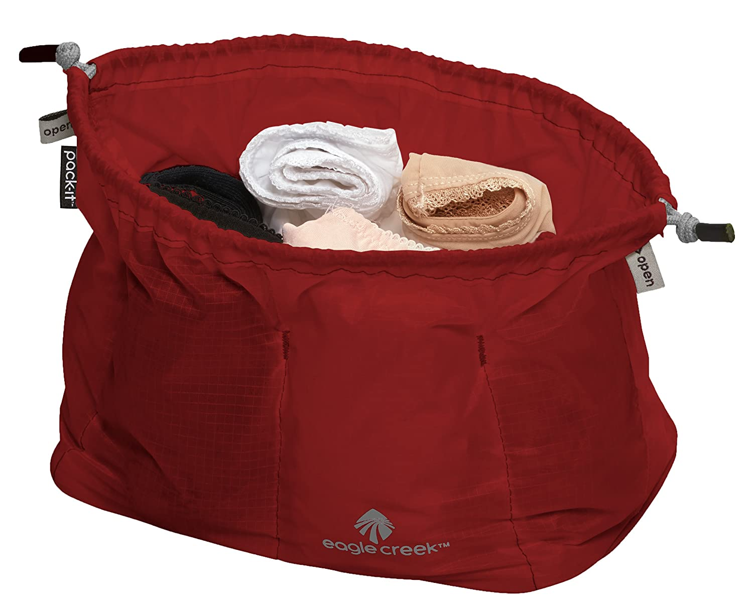 8744b0fb2db Amazon.com | Eagle Creek Pack-It Cinch Organizer, Volcano Red | Packing  Organizers
