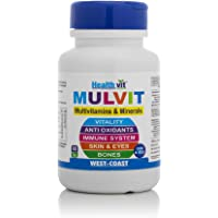 HealthVit Mulvit A To Z Multivitamins and Minerals- 60 Tablets