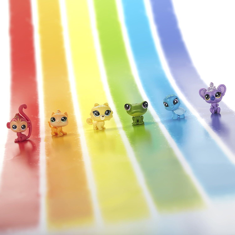 Littlest Pet Shop Girls Lps Rainbow Pack Horse Hasbro C0806as0