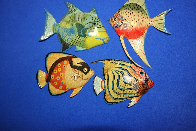 Salty Pelican Coral - Reef Nursery装飾 Reef、カラフルな魚3 - D D poly-resin 6インチ、バンドル4魚 B07DPV4NNR, アクシスR&Dゴルフ:d9aca122 --- ijpba.info