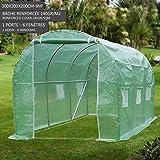 Garden igloo 33244 clear greenhouse 142 x 142 x 87 inches garden outdoors - Serre de jardin 6m2 ...