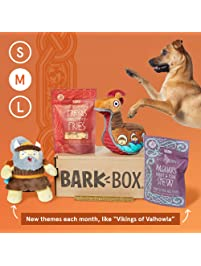 BarkBox Subscription - The Best Toys & Treats For Your Dog Every Month: Med (20-50lb)