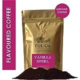 TGL Vanilla Swirl Flavoured Coffee Coarse Ground Coffee (200 Grams)