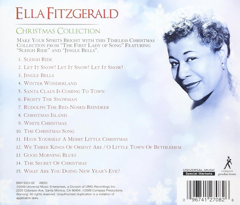 ella fitzgerald ella fitzgerald christmas collection amazoncom music - Fitzgerald Christmas