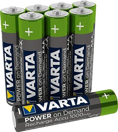 Varta Power On Demand Rechargeable Akku Ready2use Elektronik