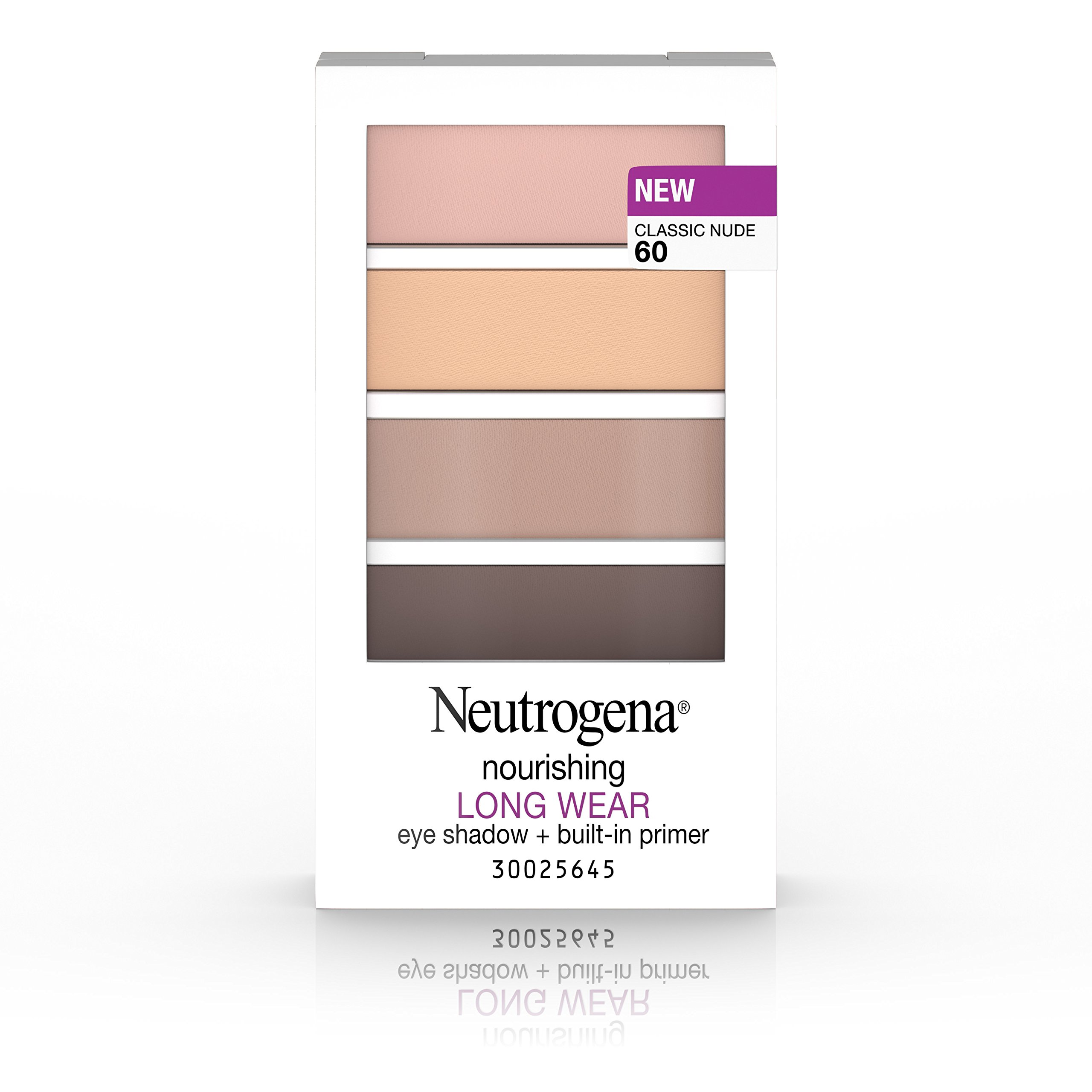 Neutrogena Nourishing Long Wear Eye Shadow + Built-In Primer, 60 Classic Nude.24 Oz.