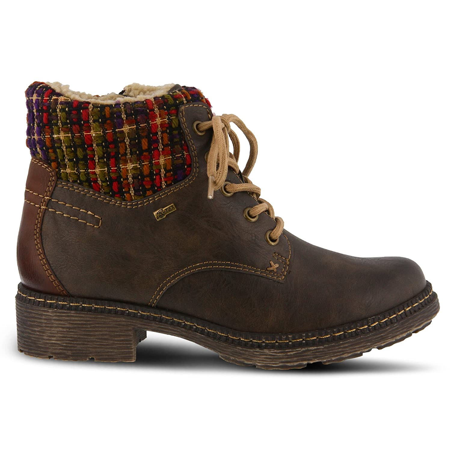 Spring Step Womens Marylee Combat Boot