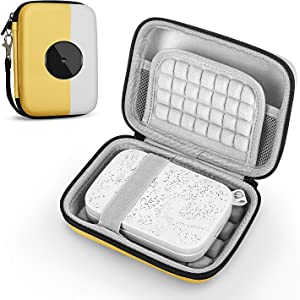 Fromsky Case for HP Sprocket Portable Photo Printer, Travel Carry Case Protective Cover (Yellow)
