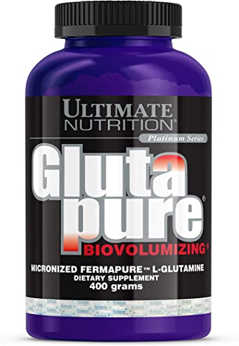Ultimate Nutrition GlutaPure 5000mg L-Glutamine Muscle Recovery Amino Acid Supplement
