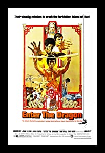 Wallspace Enter The Dragon - 11x17 Framed Movie Poster