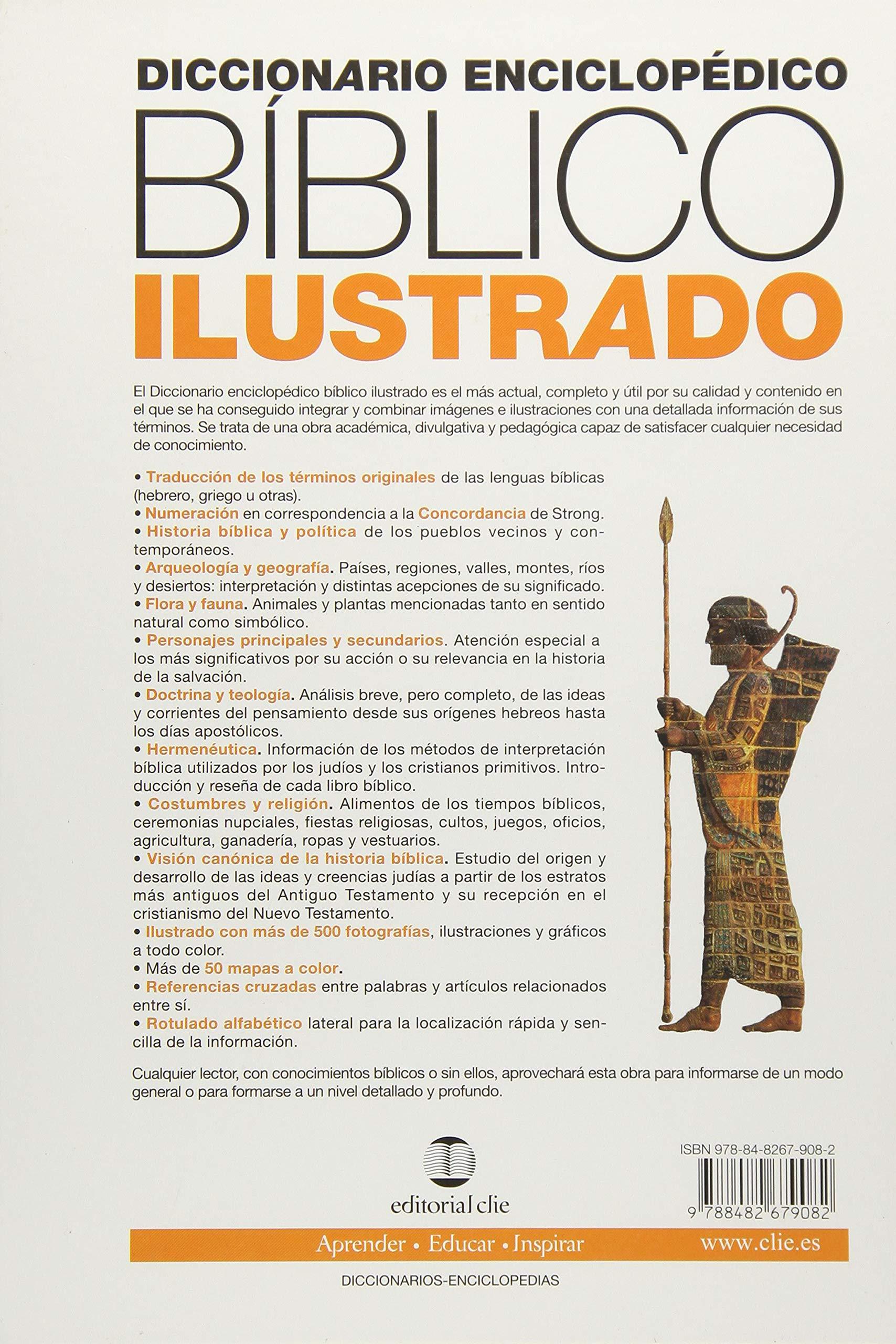 Diccionario enciclopédico bíblico ilustrado (Spanish Edition): Alfonso  Ropero: 9788482679082: Amazon.com: Books