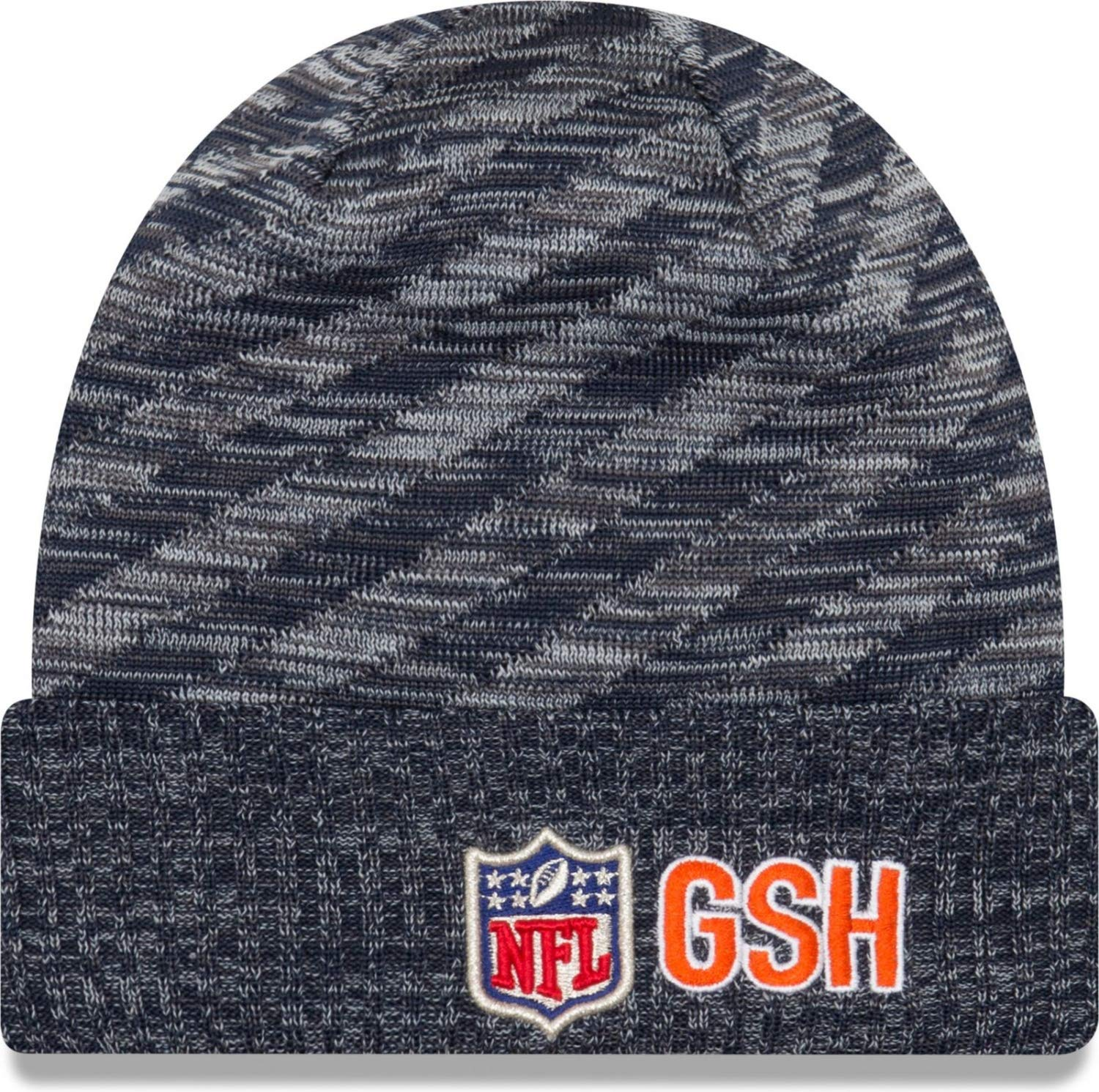 New Era Chicago Bears HISTORIC 2018 Sideline Touchdown Knit NFL Beanie a89cbd52e