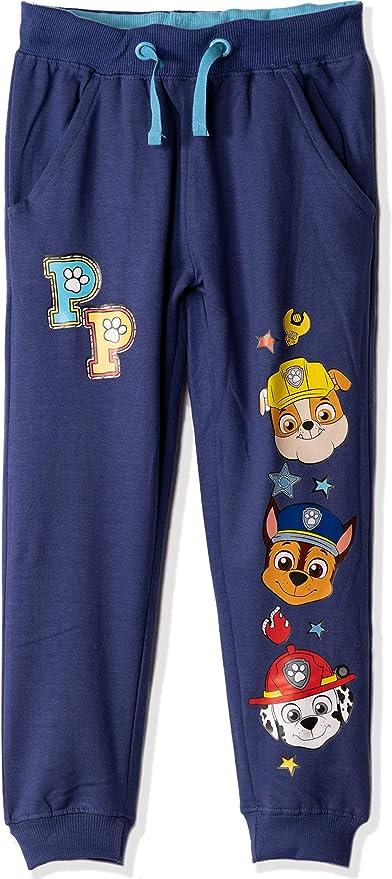 Pantalones de chándal con Personajes de la Patrulla Canina, 100% algodón, para niños y niñas de 1 a 7 años Gris Azul - Marshall, Chase Rubble 5 años: Amazon.es: Ropa y accesorios