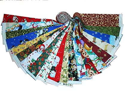christmas figs jelly roll 40 25 inch strips by for moda fabrics 20310jr