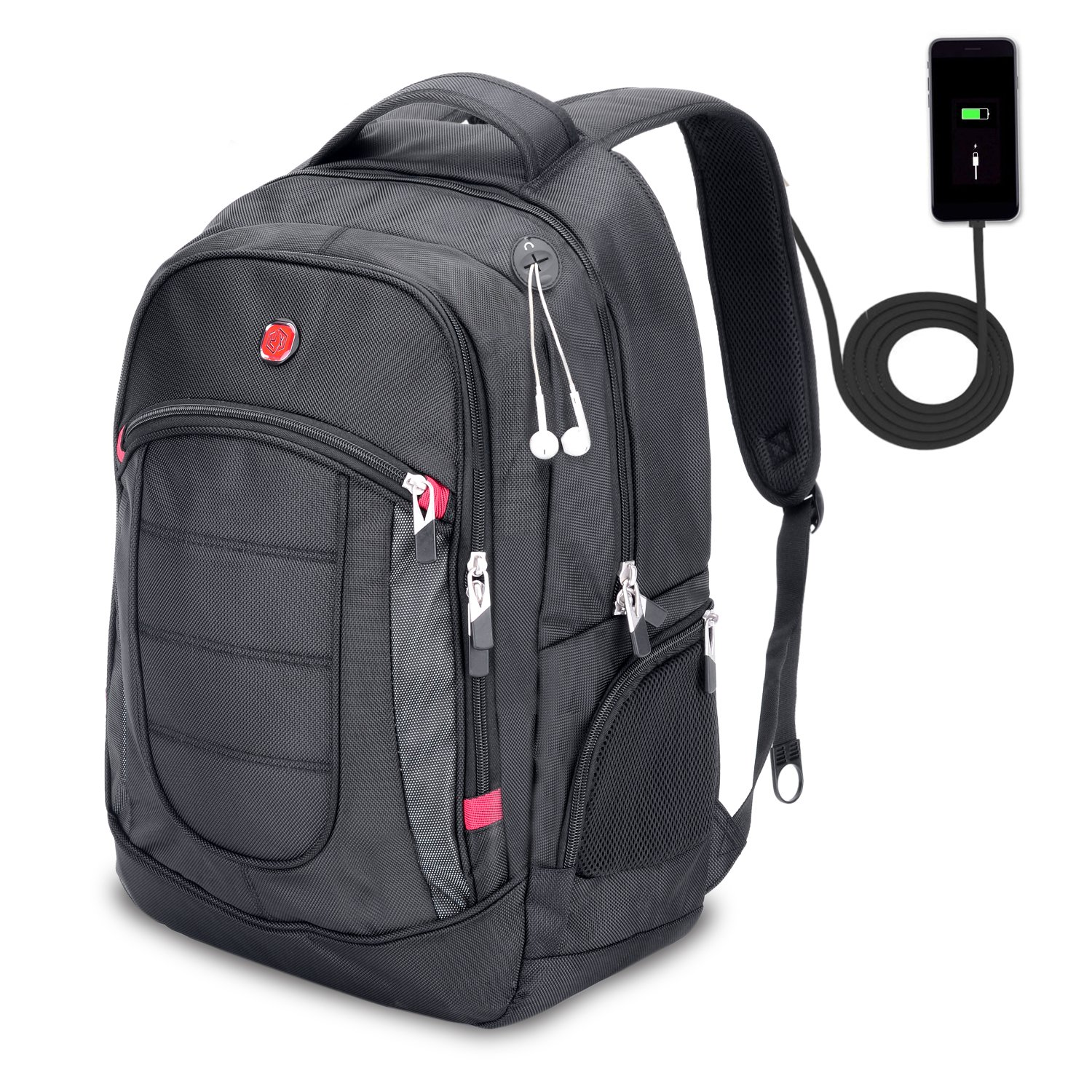 50e76f8a25ba9 XY Life Laptop Notebook Rucksack Daypack Schulrucksack Backpack  Multifunktion