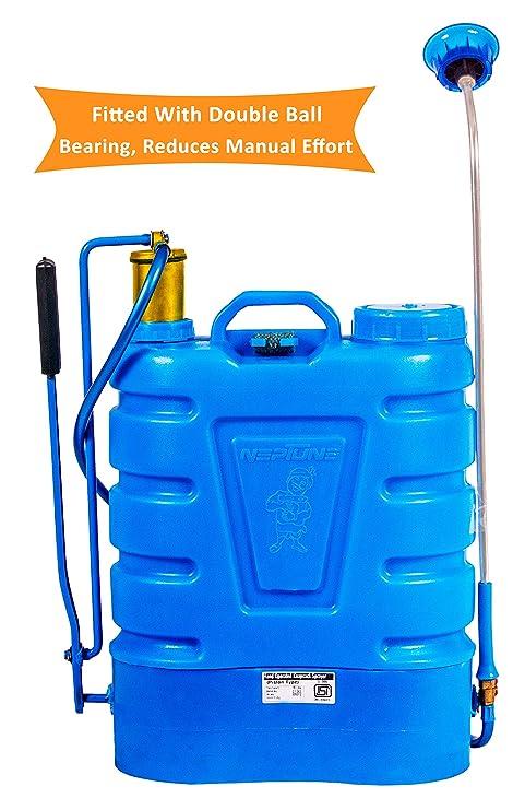 Neptune Hand Operated/Manual Knapsack/Backpack Agricultural/Garden Sprayer -16 Liter (Hariyali-12)