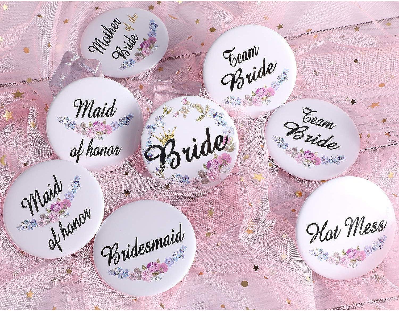 Bachelorette Party 2.25 inch Buttons Hen Party Pins Bride Squad Last Fling Party Pre Wedding Favors GNO Bride Wedding Party Favors