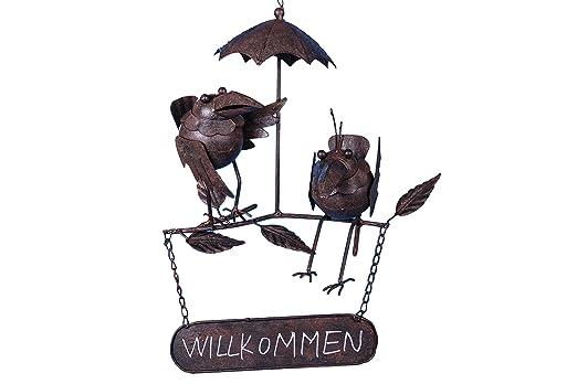 Cartel de Bienvenida para colgar con cuervos decorativa de ...